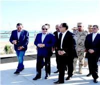 الرئيس السيسى يتفقد منتجع «ماسة العلمين» عقب صلاة العيد