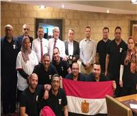 سفير مصر بالمغرب يزور بعثة مصر استعدادا للمشاركة في دورة الألعاب الإفريقية