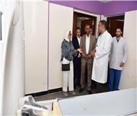 وزيرة الصحة توجه بتوفير 8 مكيفات هواء لمستشفى العلمين