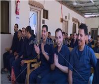 فيديو وصور  فرحة 1634 سجينًا بالإفراج بمناسبة عيد الأضحى