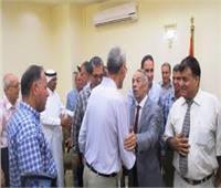 قيادات شمال سيناء ومشايخ القبائل وذوو القدرات الخاصة يهنئون المحافظ بالعيد