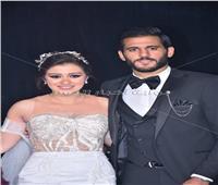 صور| لاعبو الأهلي يحتفلون بزفاف مروان محسن