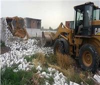 الزراعة تواصل حملات وقف وإزالة التعديات الفورية على الأراضي