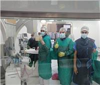 الصحة: «تميم» أول حالة قسطرة قلبية في منظومة التأمين الصحي ببورسعيد