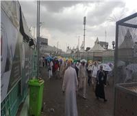 بعثة الحج السياحى ترفع حالة الطوارئ بسبب السيول