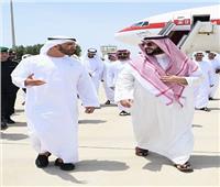 ولي عهد أبو ظبي يصل إلى جدة
