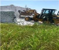 الزراعة: إزالة فورية للبناء على الأراضي الزراعية بالإسماعيلية