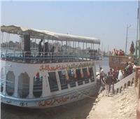 الرحلات النيلية تتصدر المشهد فى احتفالات ثالث أيام العيد بكفر الشيخ
