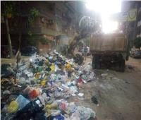 نقل 3 آلاف طن قمامة في ثاني أيام عيد الأضحى بالغربية