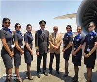 صور| مصر للطيران تتسلم آخر «طائرات الأحلام»
