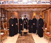 البابا تواضروس يستقبل المرشح لمنصب النائب البطريركي الكاثوليكي بمصر