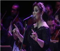 مي فاروق في سهرة طرب بأوبرا الإسكندرية