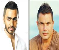 فيديو| تعرف على حقيقة سرقة عمرو دياب للحن تامر حسني