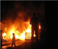 السيطرة على حريق هائل بشرق العوينات في الوادي الجديد