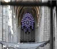 سقوط أحجار من كاتدرائية«نوتردام»المحترقة