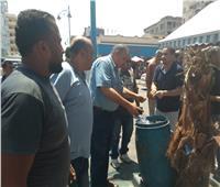 صور| رئيس مدينة مطروح يقود حملةلإعادة الانضباط وإزالة التعديات