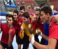 الشوط الأول| منتخب مصر لكرة اليد يحسم الشوط الأول بالتفوق على إيسلندا