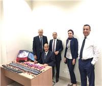جمارك مطار القاهرة الدولى تضبط محاولة تهريب عدد من أجهزة التتبع