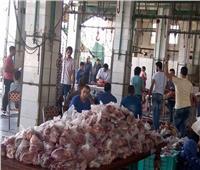 وزير الأوقاف ومحافظ القاهرة يشهدان انطلاق توزيع لحوم صكوك الأضاحي بالقاهرة