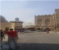 الآثار: شارع المعز آمن تماما بعد إخماد حريق «البقالة»