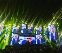 صور| حفل عمرو دياب بالعلمين الجديدة «كامل العدد»
