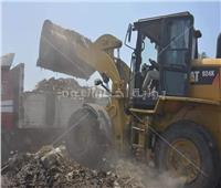 قرى بسيون بالغربية تتخلص من مقلب القمامة الرئيسي بعد تراكم 5 آلاف طن