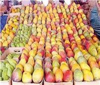 أسعار وأنواع المانجو في سوق العبور السبت 17 أغسطس