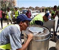 جهاز مدينة 6 أكتوبر يشُن عدة حملات لإزالة التعديات والإشغالات بالمدينة