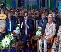 السيسي: «المساجد والكنائس لا تبنى على أرض حرام»