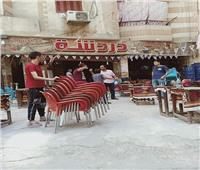 صور| حملة مكبرة لرفع الإشغالات بفيصل