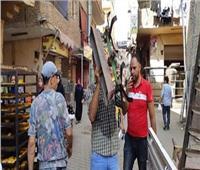 صور| حملة إشغالات مكبرة بنطاق مدينة بشتيل بالجيزة