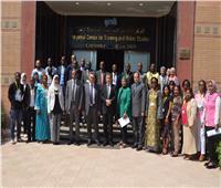 بحضور 13 دولة إفريقية.. برنامج تدريبي في استخدامات المياه غير التقليدية