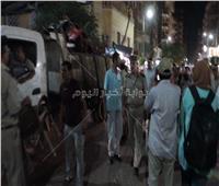 صور| حمله مكثفه لشرطة المرافق لإزالة الاشغالات بمدينة شبين الكوم