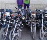 ضبط لصوص الدراجات البخارية بالشرقية