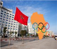 دينا مشرف ومصطفى الجمل يحملان علم مصر في افتتاح الألعاب الإفريقية بالمغرب