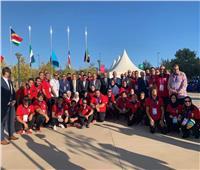 صور| «بعثة مصر» تشارك بحفل افتتاح دورة الألعاب الإفريقية