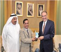 سفير السعودية بالقاهرة يلتقي أعضاء بعثة نادي القصيم لـ «ذوي الإعاقة»