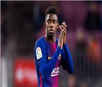 «عثمان ديمبيلي» يتأخر عن التدريب مرة أخرى في «برشلونة»