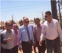 نائب رئيس هيئة المجتمعات يتفقد المشروعات الجاري تنفيذها بمدينة 6 أكتوبر