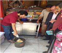التحفظ على كميات من اللحوم والدواجن في حملات على مطاعم الإسكندرية