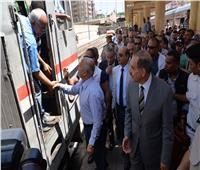 وزير النقل يفتتح المرحلة الثانية من كوبري مشاة الهلالي بأسيوط