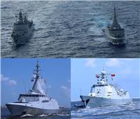 القوات البحرية المصرية والصينية تنفذان تدريب بحري عابر بالبحر المتوسط