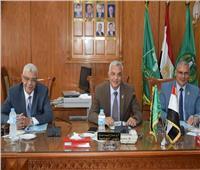 انعقادمجلس إدارة صندوق تطوير الخدمات التعليمية بجامعة المنوفية