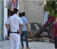 صور| استمرار الحملات لإزالة التعديات بالقاهرة الجديدة