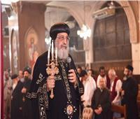 «البابا تواضروس» يلقي عظته الأسبوعية من الكاتدرائية بالعباسية