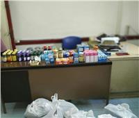 في حملة للتفتيش الصيدلي .. ضبط أدوية مستوردة داخل محل في السخنة