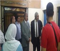 رئيس جامعة الأزهر يتفقد مستشفى الحسين الجامعى ليلا