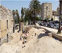 الأثار: رفع 50 سيارة مخلفات من محيط طابية النحاسين بالإسكندرية