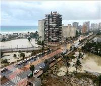 صور| أمطار غزيرة في إسبانيا تسبب فيضانات وتعطل الحركة