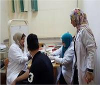 تنفيذ مبادرة ال 100 مليون صحة على الطلاب الجدد بجامعة الزقازيق